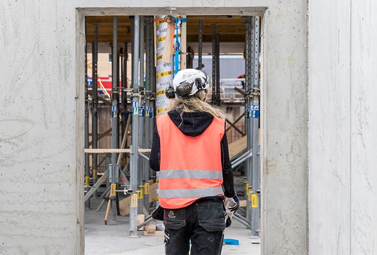 Kvinnor i byggbranschen